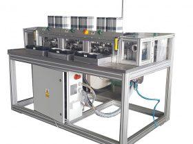 automat dociskania masy anodowej