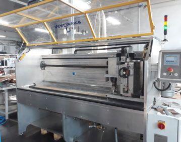 półautomat frezujący materiały